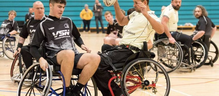 Scotland's First Win in Wheelchair Rugby 7s