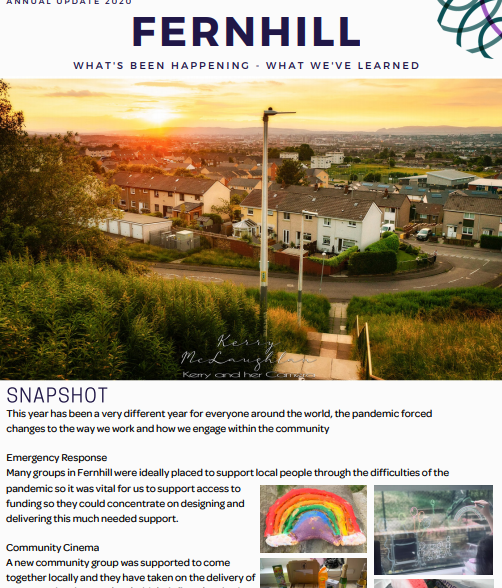 Fernill Comunity update report front page