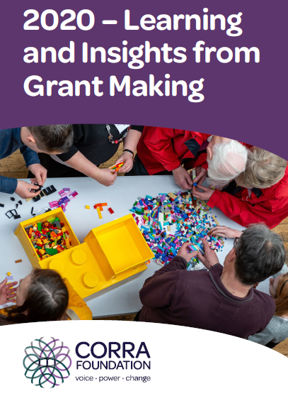2020 Learning and Insights from Grant Making cover page